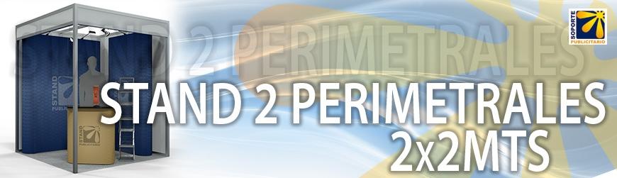 STAND 2 PERIMETRALES 2X2MTS