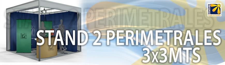 STAND 2 PERIMETRALES 3X3MTS