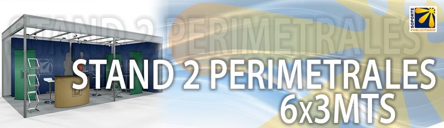 STAND 2 PERIMETRALES 6X3MTS