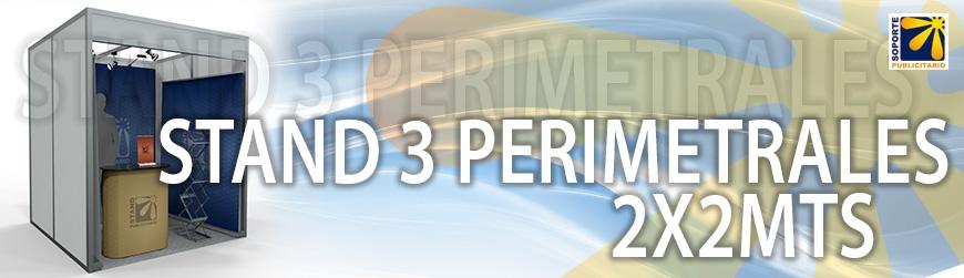 STAND 3 PERIMETRALES 2X2MTS