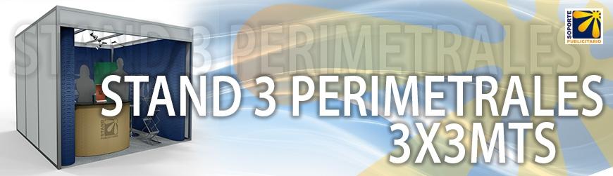 STAND 3 PERIMETRALES 3X3MTS