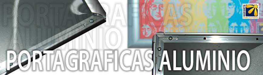 PORTA GRÁFICAS ALUMINIO