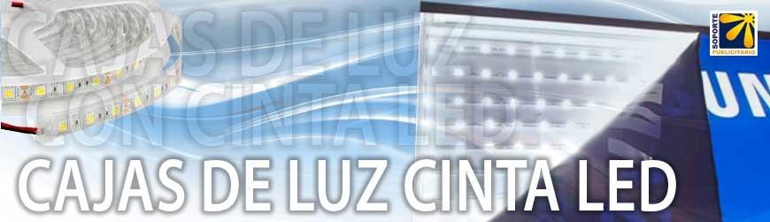 CAJAS DE LUZ CON CINTA LED