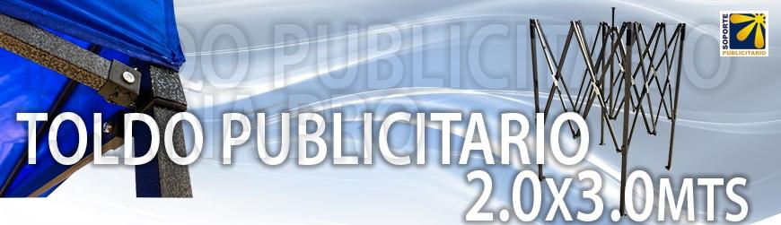 TOLDO PUBLICITARIO ARAÑA PRO 2x3mts