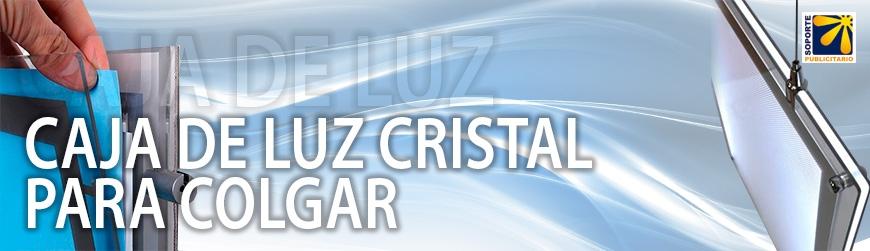 CAJA DE LUZ CRISTAL PARA COLGAR