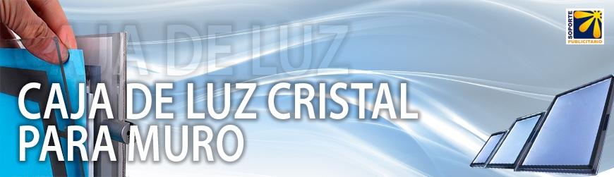 CAJA DE LUZ CRISTAL PARA MURO