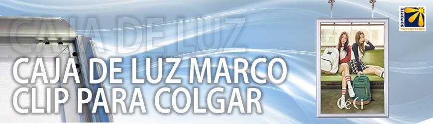 CAJA DE LUZ MARCO CLIP PARA COLGAR