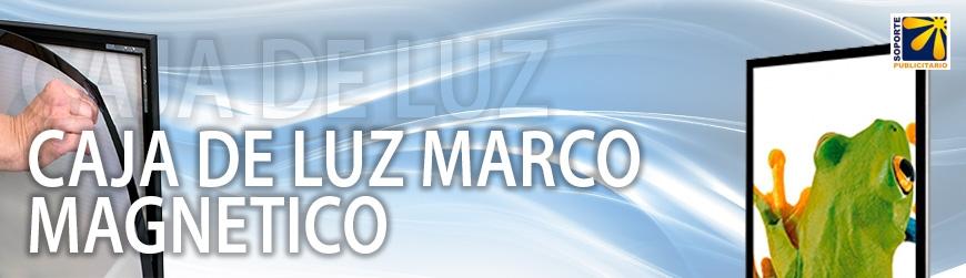 CAJA DE LUZ MARCO MAGNETICO