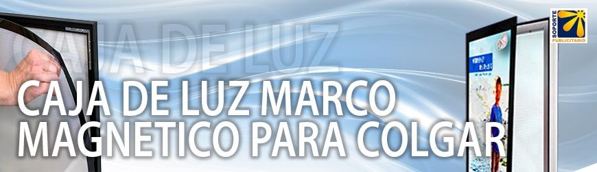 CAJA DE LUZ MARCO MAGNETICO PARA COLGAR