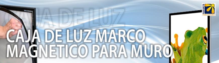 CAJA DE LUZ MARCO MAGNÉTICO PARA MURO
