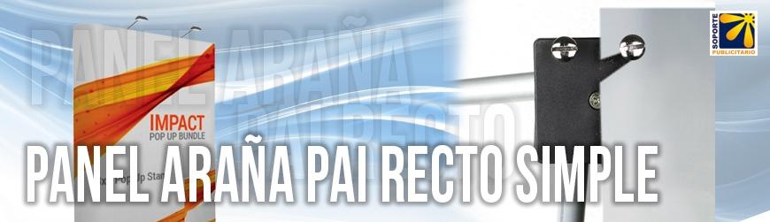 PANEL RECTO PARA GRÁFICA SIMPLE
