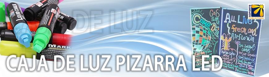 CAJA DE LUZ PIZARRA LED
