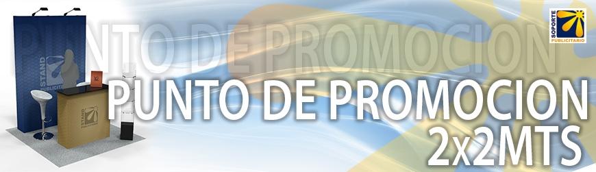 PUNTO  DE PROMOCION 2X2MTS