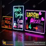 CAJA DE LUZ PIZARRA LED 50*70 CMS