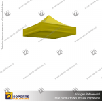 CARPA 1.5*1.5 MTS COLOR AMARILLO PARA TOLDO PUBLICITARIO