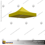 CARPA 2*2 MTS COLOR AMARILLO PARA TOLDO PUBLICITARIO