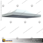 CARPA 3*4.5 MTS COLOR BLANCO PARA TOLDO PUBLICITARIO