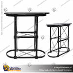STAND OUTDOOR FREE SIZES 2*2 MTS EQUIP1