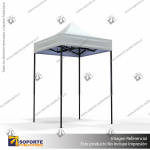 TOLDO PUBLICITARIO 1.5*1.5 MTS COLOR BLANCO