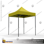 TOLDO PUBLICITARIO 2*2 MTS COLOR AMARILLO