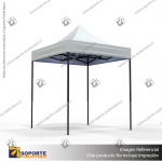 TOLDO PUBLICITARIO 2*2 MTS COLOR BLANCO