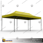 TOLDO PUBLICITARIO 3*6 MTS COLOR AMARILLO