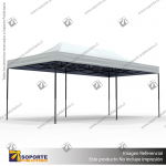 TOLDO PUBLICITARIO 3*6 MTS COLOR BLANCO